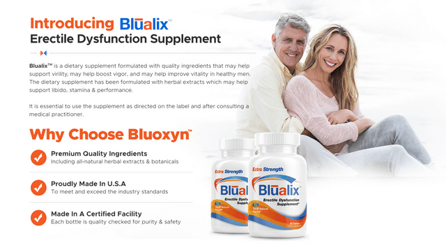 Blualix male enhancement