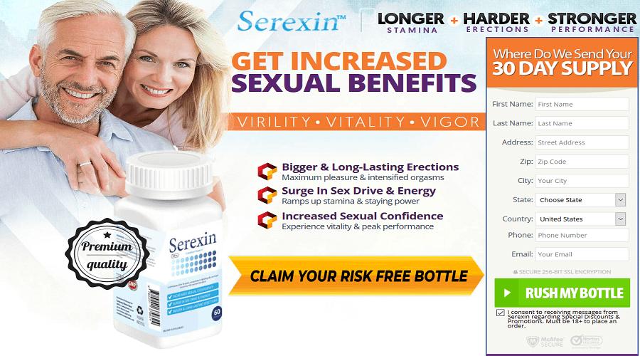 Serexin Male Enhancement banner