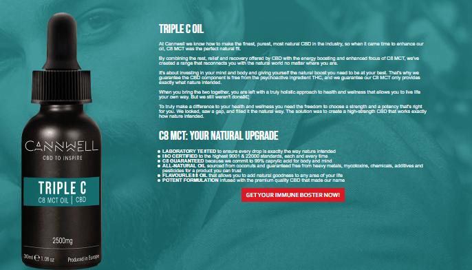 cannwell cbd oil benefits