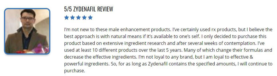 Zydenafil Review