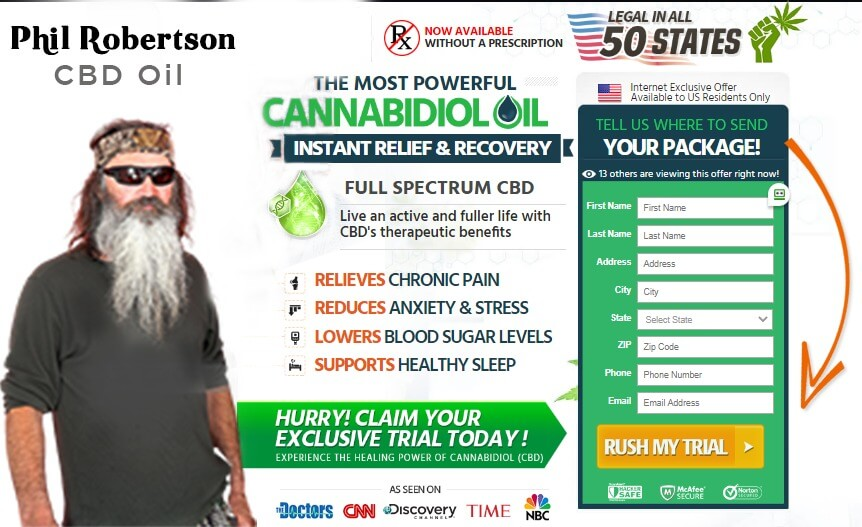 Phil Robertson CBD Oil