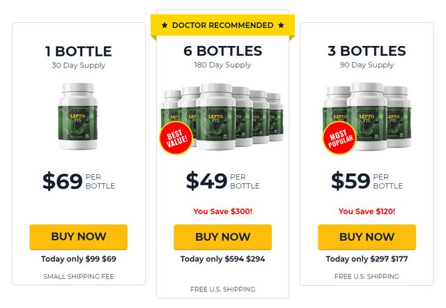Leptofix pricing