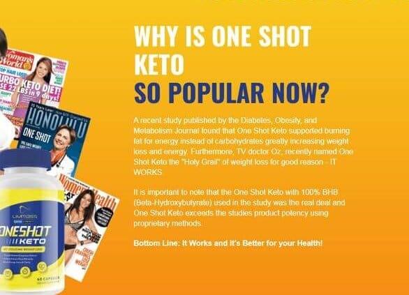 One shot keto Canada review
