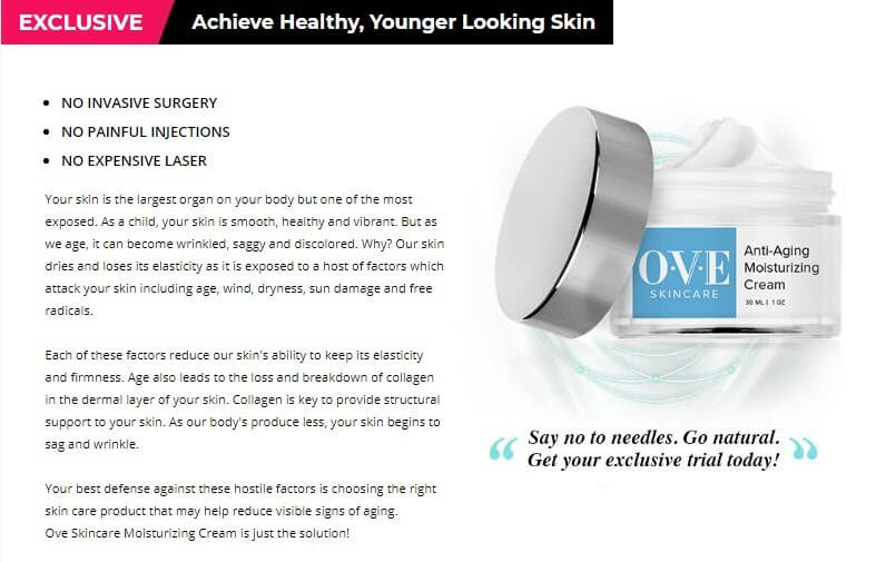 OVE SKINCARE Review