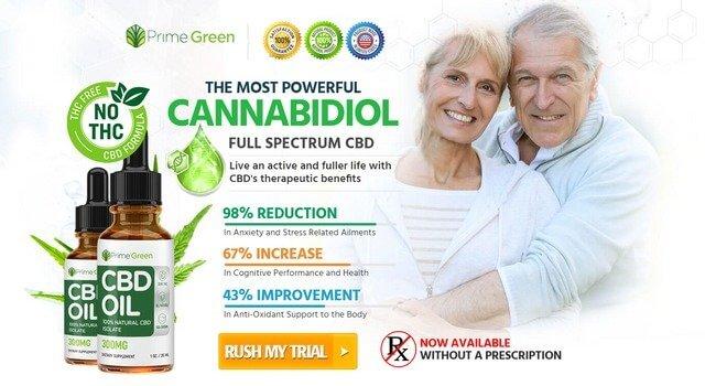 Prime Green CBD Oil