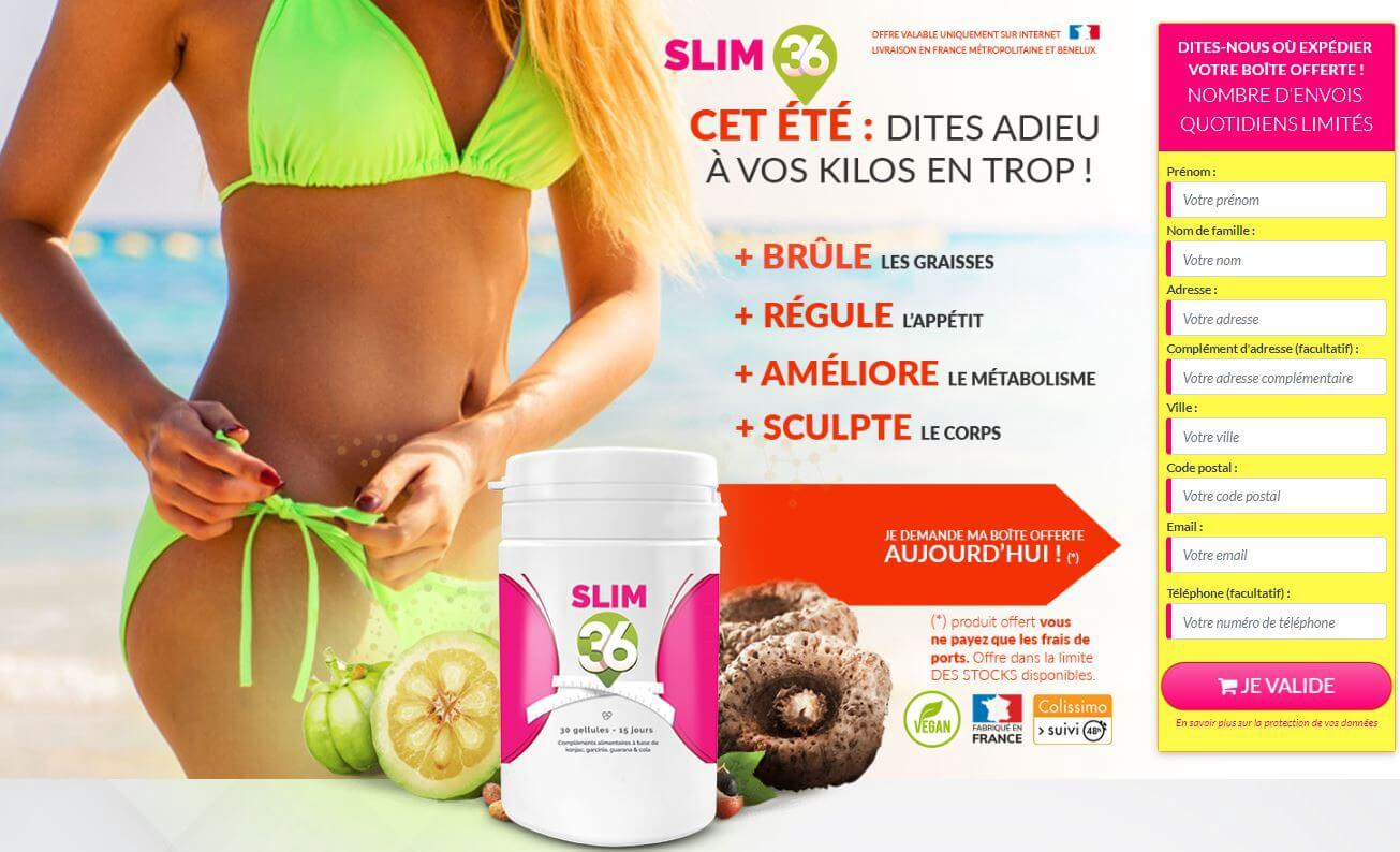 Slim36 France: Review, #1 Weight Loss Supplement,  7 Facts About Ingredients 