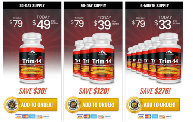 Trim 14 price