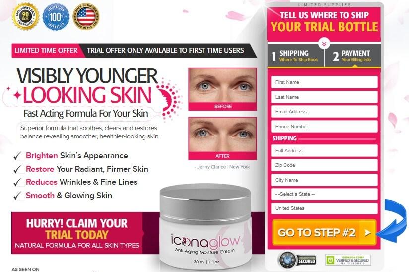 icona glow Cream Review