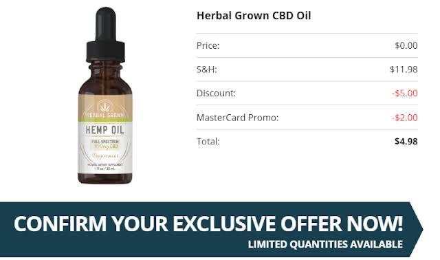 Buy Herbal Grown CBD oil