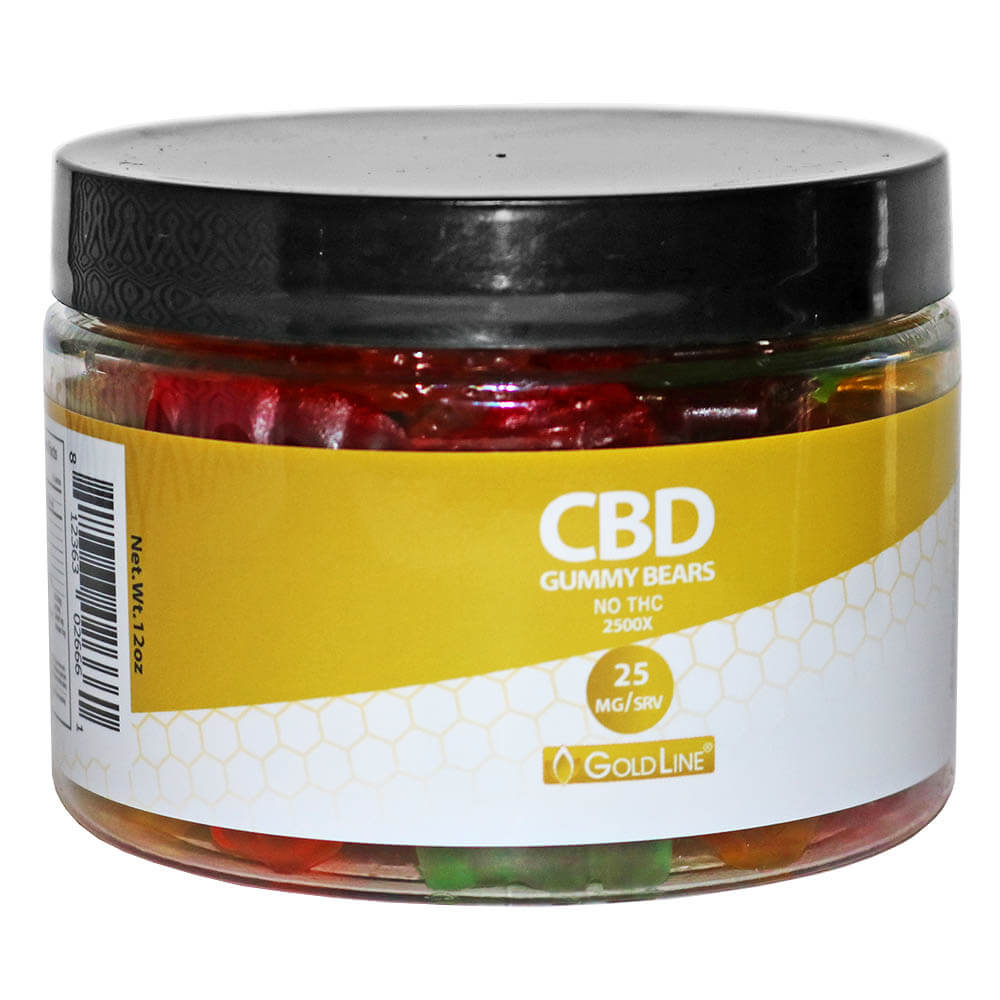 Gold Top CBD Gummies
