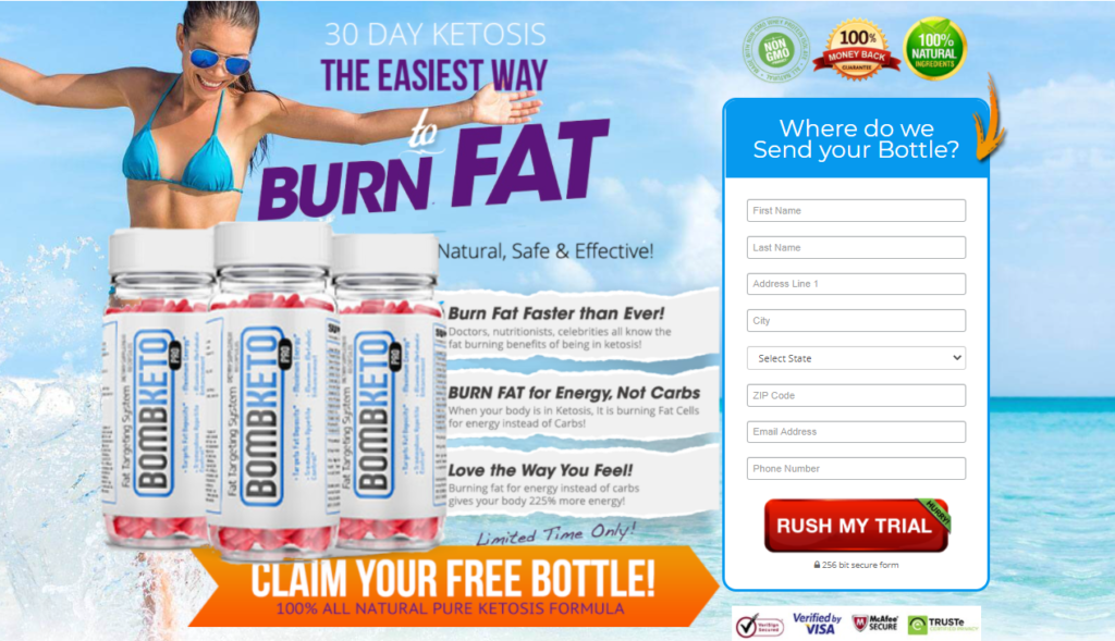 Bomb Keto Pro: Reviews, Side Effects, Ingredients | Does It Really Work|?
