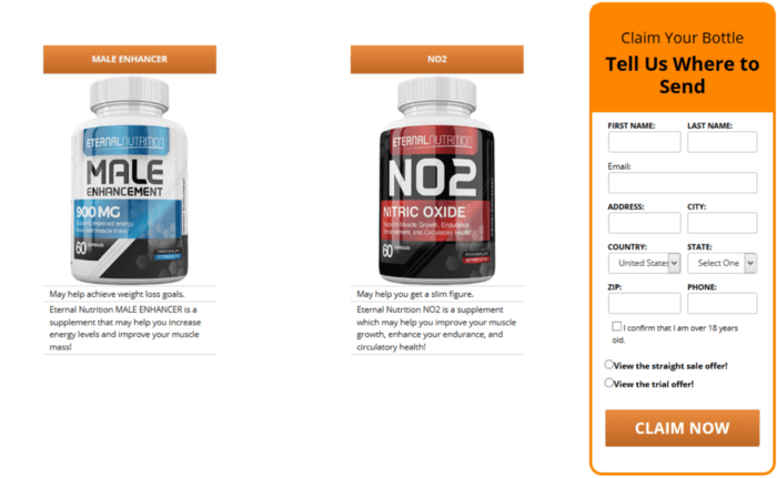 Eternal Nutrition Muscle And <Male Enhancement