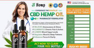 JF CBD Hemp Oil