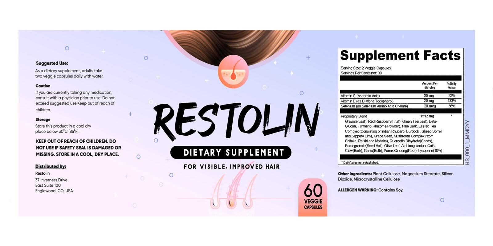 Restolin Hair Restoration