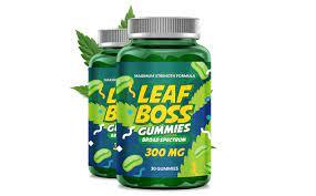 Leaf Boss CBD Gummies