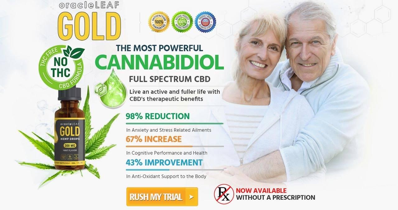 Oracle Leaf Gold CBD